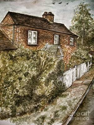 Old English Cottage Art Print