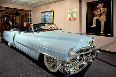 Photograph - Country Singer Hank Williams Convertable Car In Montgomery Alabama Museum by Carol M Highsmith