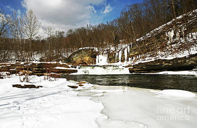 Photograph - Country Snow by John Rizzuto