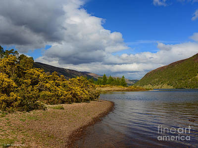 Photograph - Country Spring Loch Storm Highlands Scotland by Schwartz Nature Images