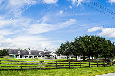 Photograph - Country Stable by Shannon Harrington