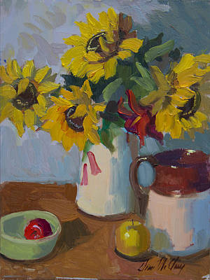 Painting - Country Still Life by Diane McClary