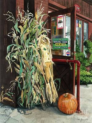 Painting - Country Store by Barbara Jewell
