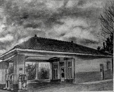 Country Store Drawing - Country Store by Doil Ivey