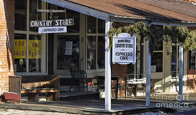 Photograph - Country Store - Espresso Cafe by Liane Wright