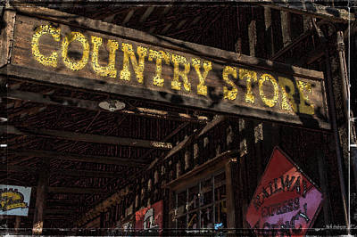 Photograph - Country Store by Mick Anderson