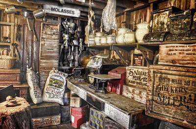 Photograph - Country Store Supplies by Ken Smith