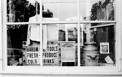 Photograph - Country Store Window by Tom Brickhouse