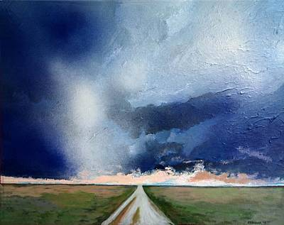 Painting - Country Storm by Robert Handler