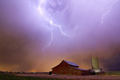 Photograph - Country Stormy Night by James BO Insogna