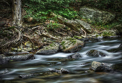 Photograph - Country Stream by Rick Mosher