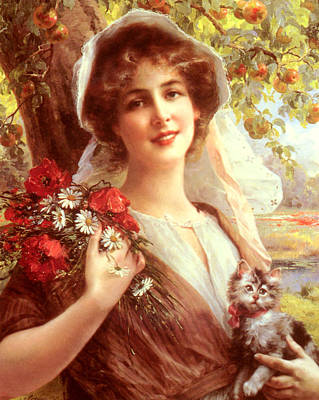 Kitty Digital Art - Country Summer by Emile Vernon