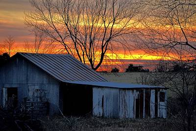 Photograph - Country Sunrise by Deena Stoddard