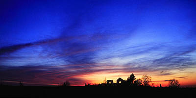 Country Sunset Art Print by Wendell Thompson