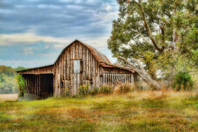 Photograph - Farm - Barn - Country Time Barn by Barry Jones