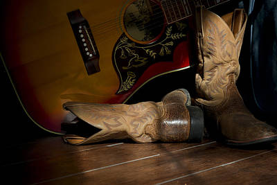 Cowboy Photograph - Country Traveler by Mark McKinney