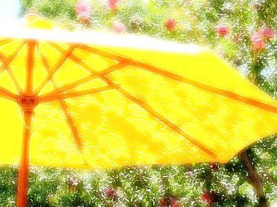 Country Umbrella Art Print