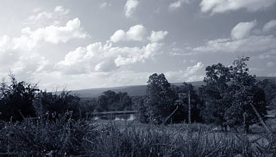 Photograph - Country Valley View by Nina Fosdick