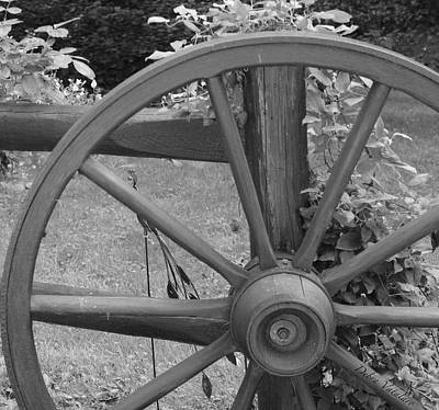 Photograph - Country Wheel Today by Debra     Vatalaro