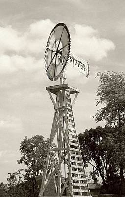 Photograph - Country Windmill by Ellen Barron O'Reilly