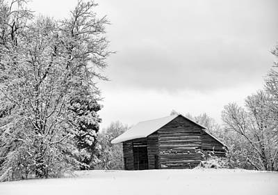 Photograph - Country Winter3 by Patrick M Lynch