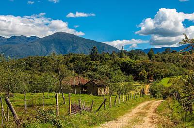 Countryside In Boyaca Colombia Art Print by Jess Kraft
