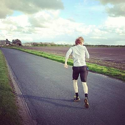 Fitness Wall Art - Photograph - Countryside Run by Sophie Isabella