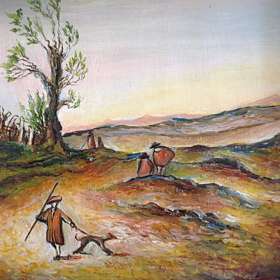Painting - Countryside Scene. by Egidio Graziani