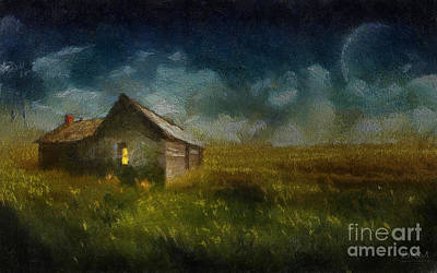 Countryside Wonder Art Print by Barbara R MacPhail