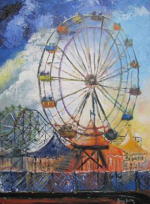 County Fair Art Print by Gary Smith
