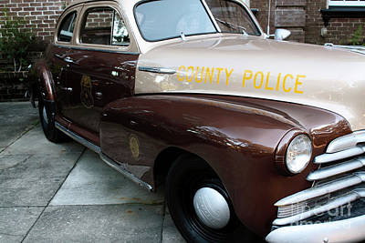 Photograph - County Police by John Rizzuto