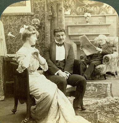 Couple, 1902 Art Print by Granger