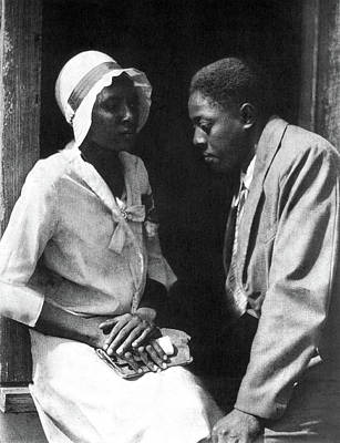 Gullah Photograph - Couple, C1925 by Granger