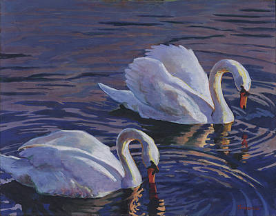 Painting - Couple by David Randall