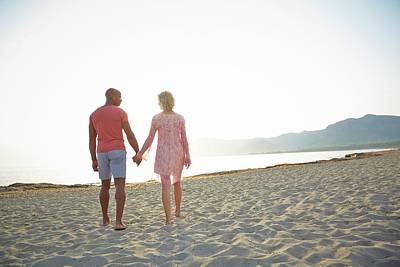 Two People Holding Hands Photograph - Couple Holding Hands by Ruth Jenkinson