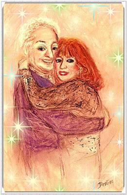 Couple In Love Art Print