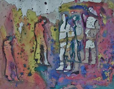 Couples Art Print by Mark Greenhalgh