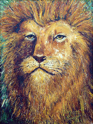 Painting - Courage by Doug Kreuger