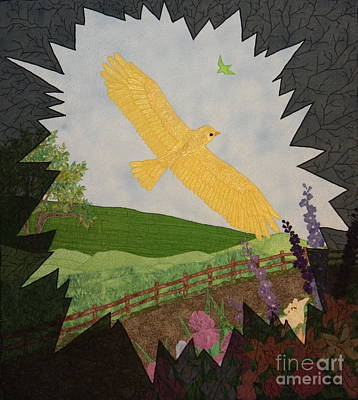 Courage Is The Bird That Soars Art Print by Denise Hoag