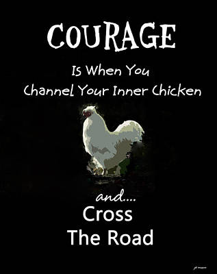 Photograph - Courage by Jacqueline  DiAnne Wasson
