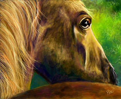Digital Art - Courage by Maria Schaefers