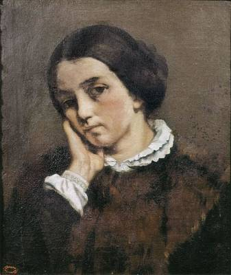 Realistic Photograph - Courbet, Gustave 1819-1877. Portrait by Everett