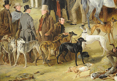 Detail Painting - Coursing Detail by Celestial Images