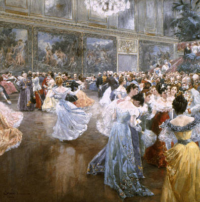 Court Ball At The Hofburg Art Print by Granger