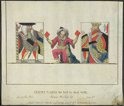 Court Cards Art Print by British Library
