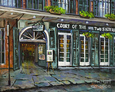 Two Sisters Painting - Court Of The Two Sisters by Dianne Parks