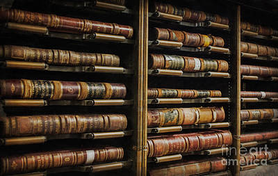 Courthouse Achival Books Art Print
