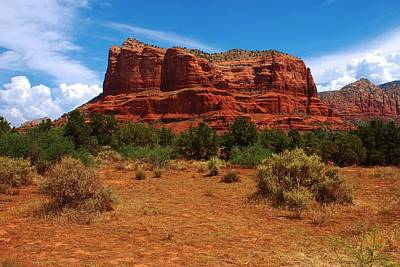 Photograph - Courthouse Butte - Sedona by Dany Lison