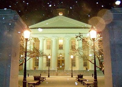 Bellefonte Wall Art - Photograph - Courthouse Centered by Mary Vollero