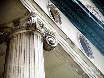 Photograph - Courthouse Detail by Sally Simon